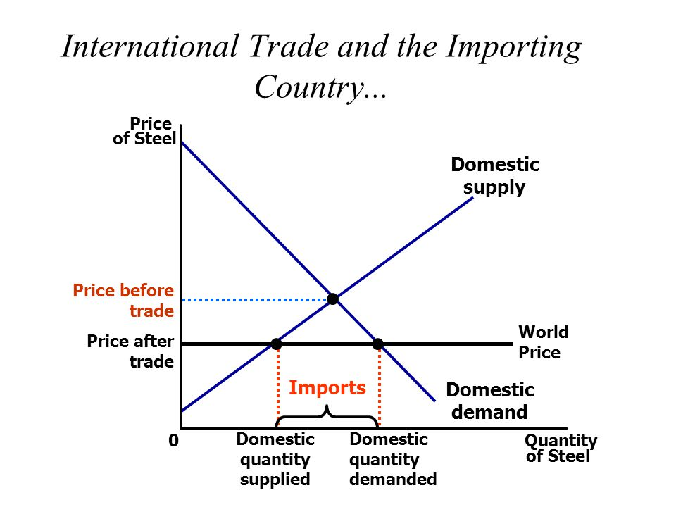 International Trade and the Importing Country...