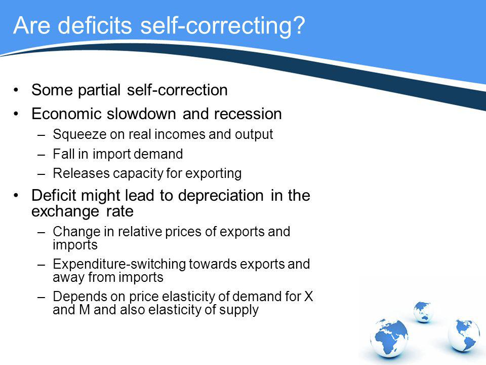 Are deficits self-correcting