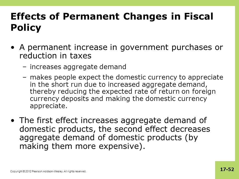 Impact of Fiscal Year Change