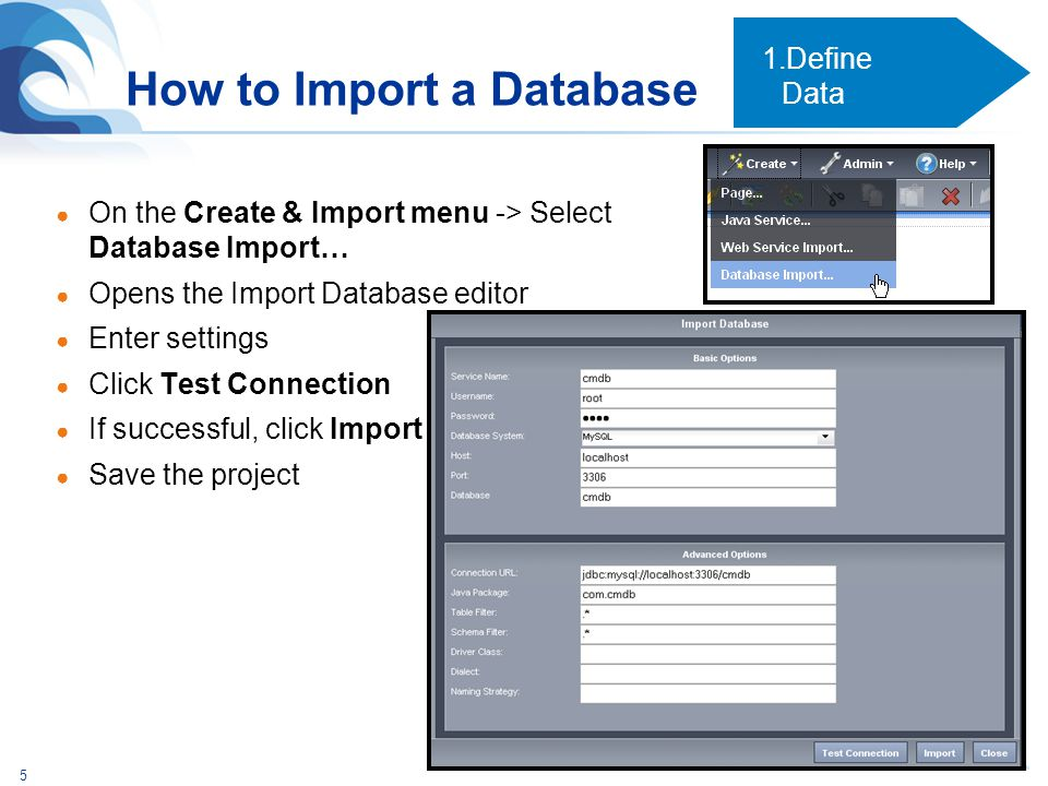 How to Import a Database