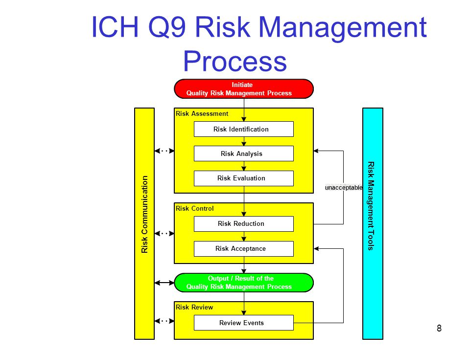 ICH Q9 Risk Management Process
