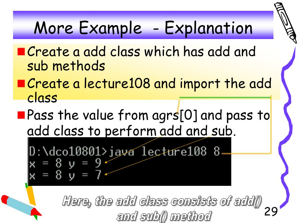 More Example - Explanation