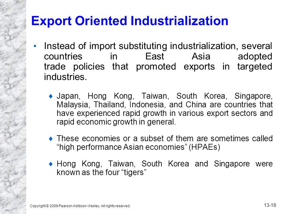 Export Oriented Industrialization
