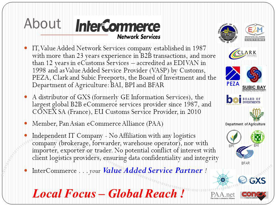About Local Focus – Global Reach !