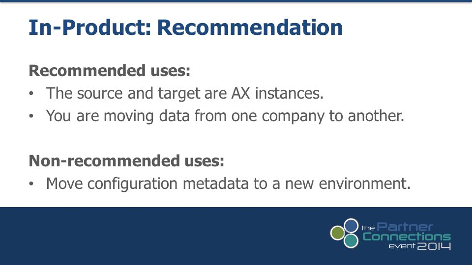 In-Product: Recommendation