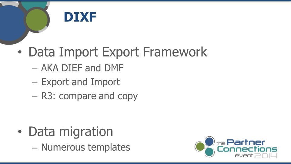 Data Import Export Framework