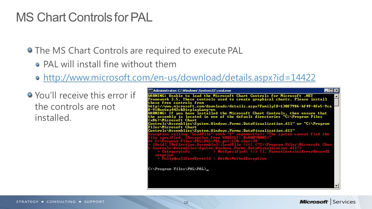 MS Chart Controls for PAL