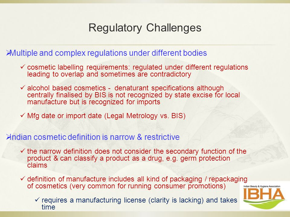Regulatory Challenges