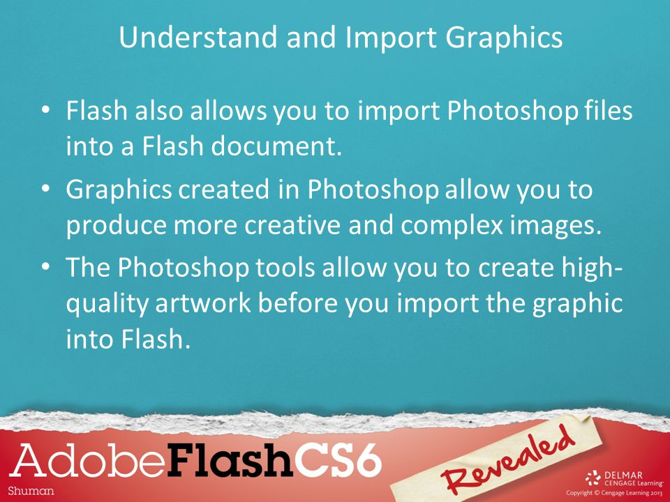 Understand and Import Graphics