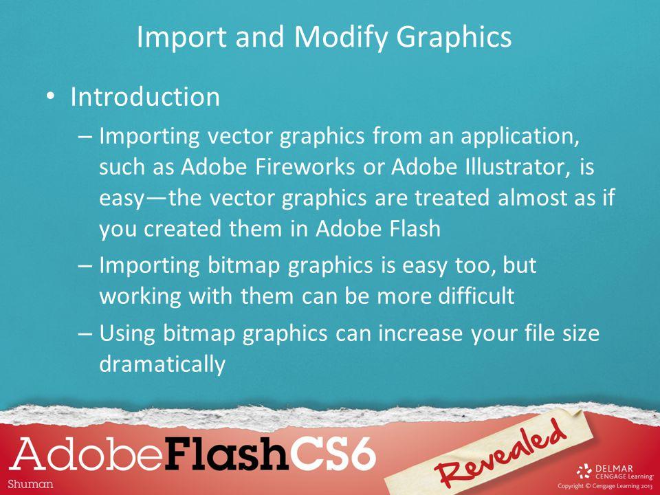Import and Modify Graphics