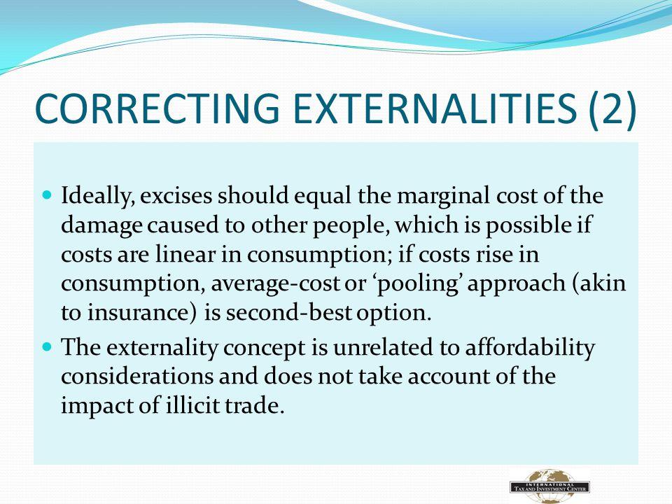 CORRECTING EXTERNALITIES (2)