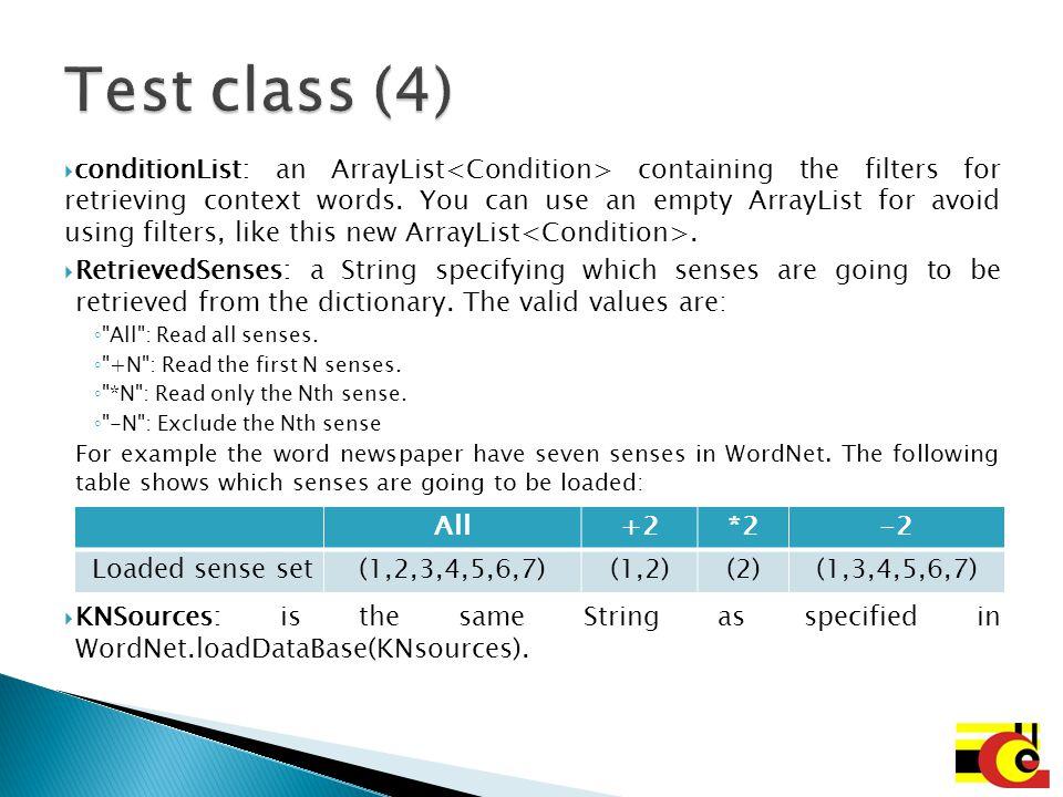 Test class (4)