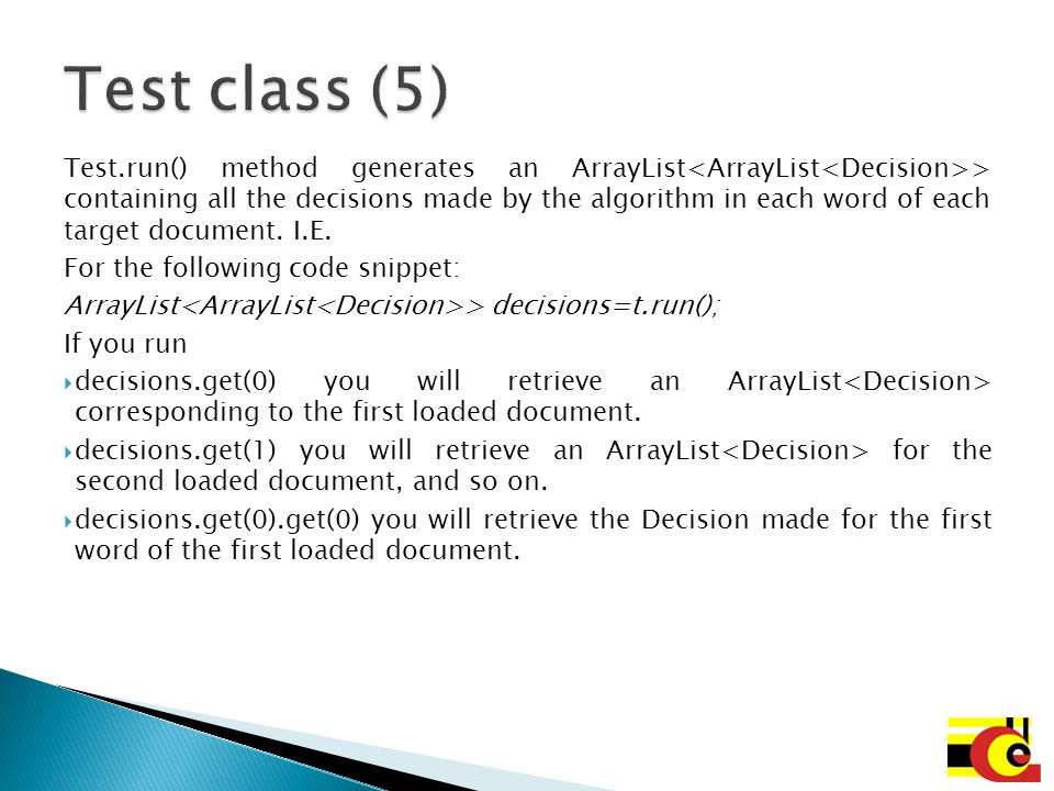 Test class (5)