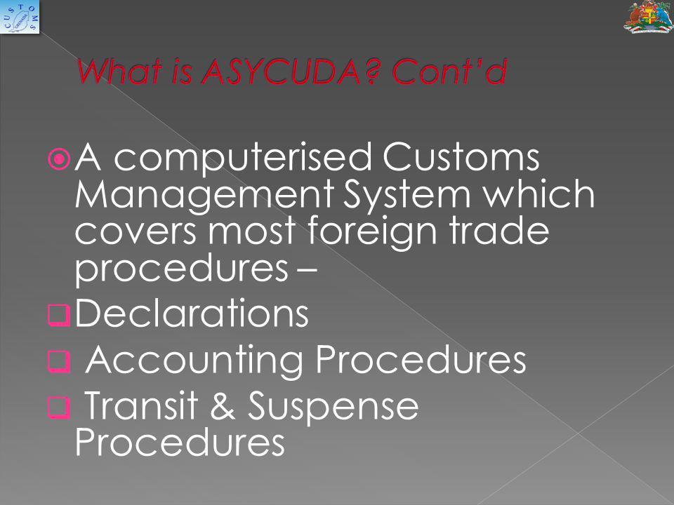 Accounting Procedures Transit & Suspense Procedures