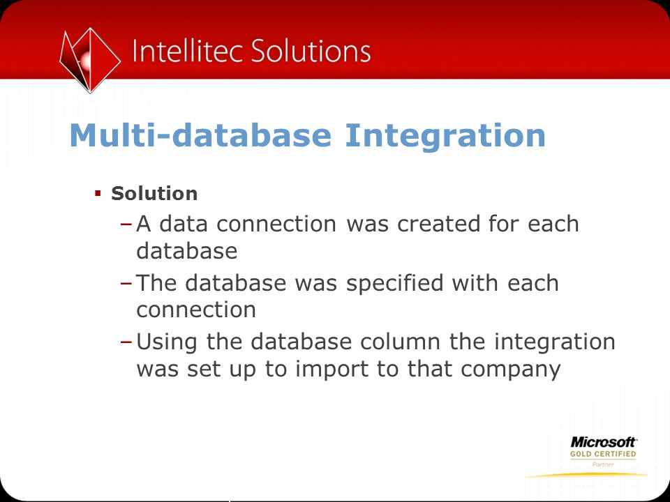 Multi-database Integration