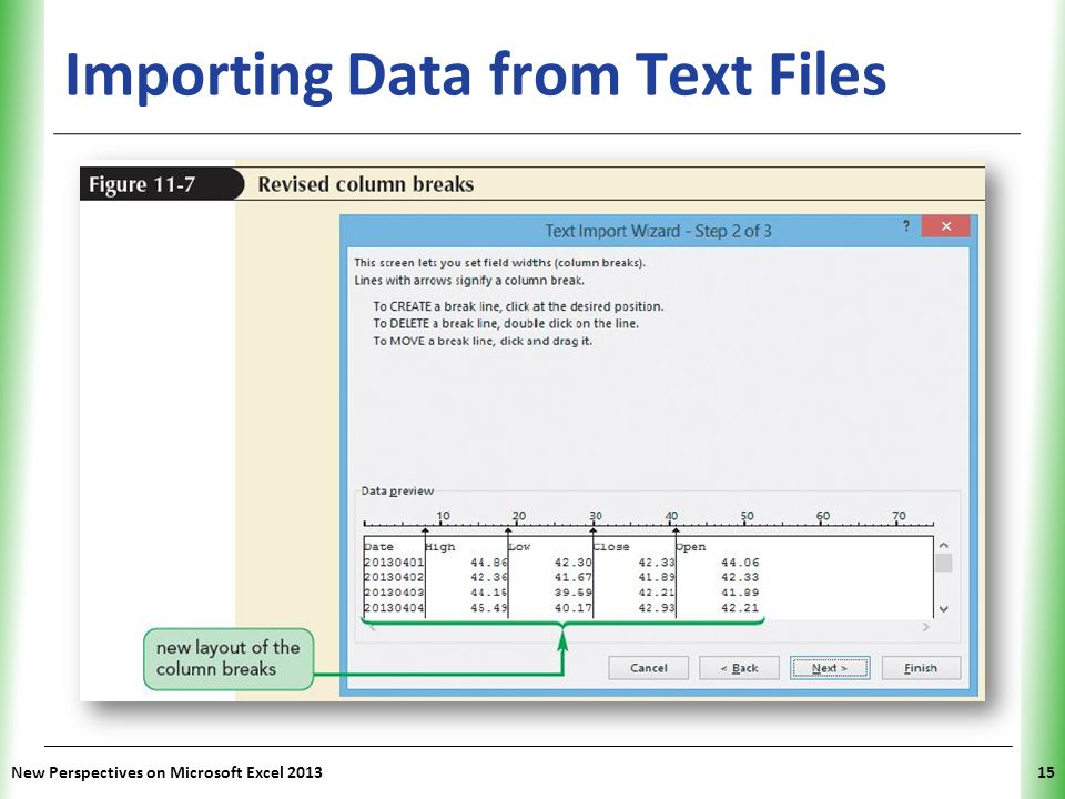 Importing Data from Text Files