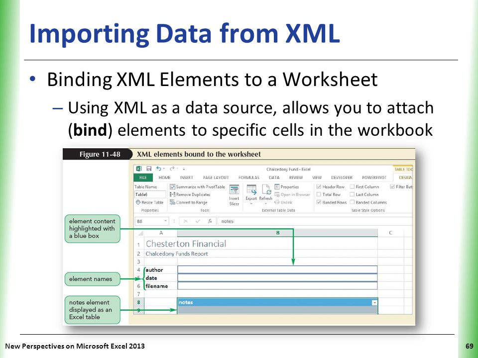 Importing Data from XML