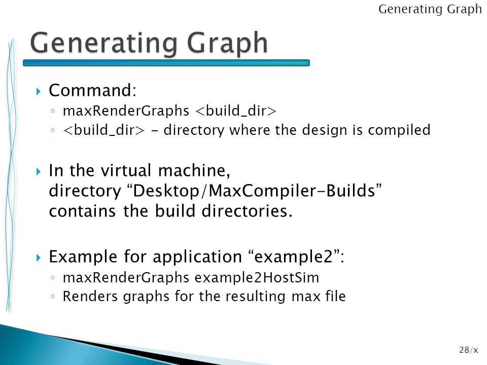 Generating Graph Command: