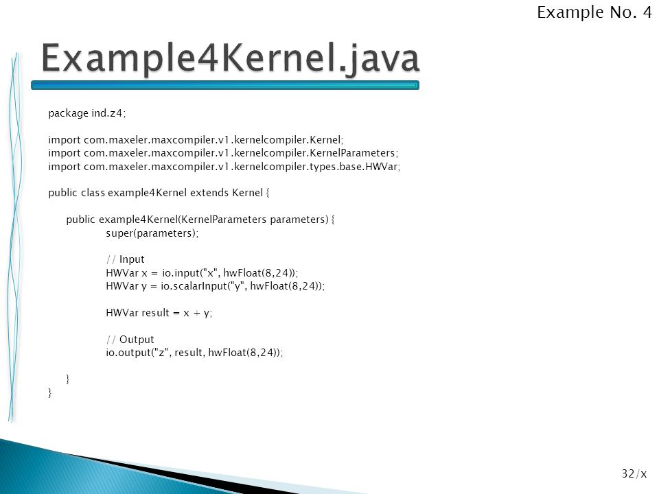 Example4Kernel.java Example No. 4