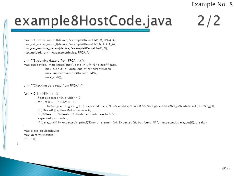 example8HostCode.java 2/2