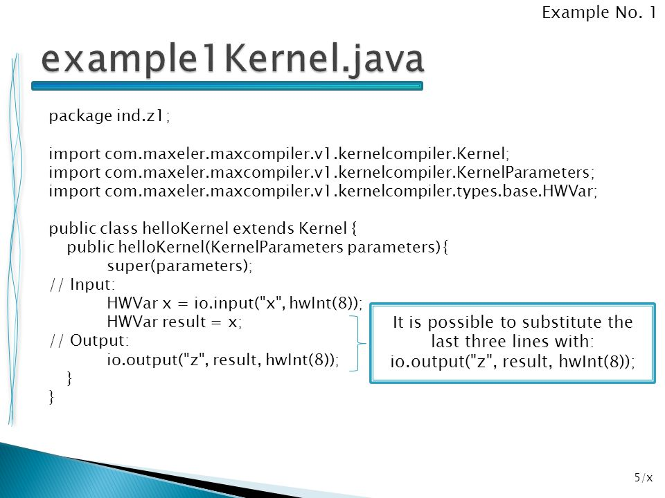 example1Kernel.java Example No. 1