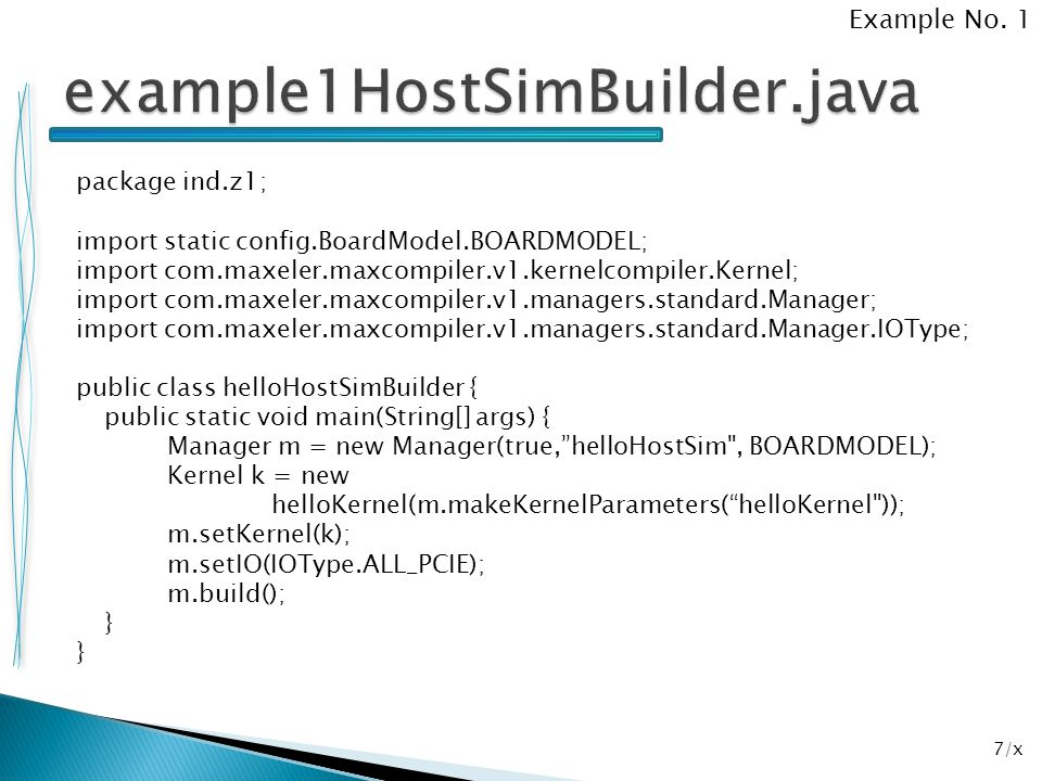 example1HostSimBuilder.java Example No. 1