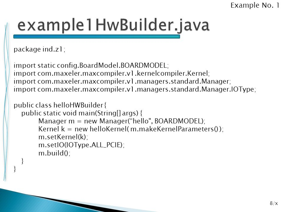example1HwBuilder.java Example No. 1