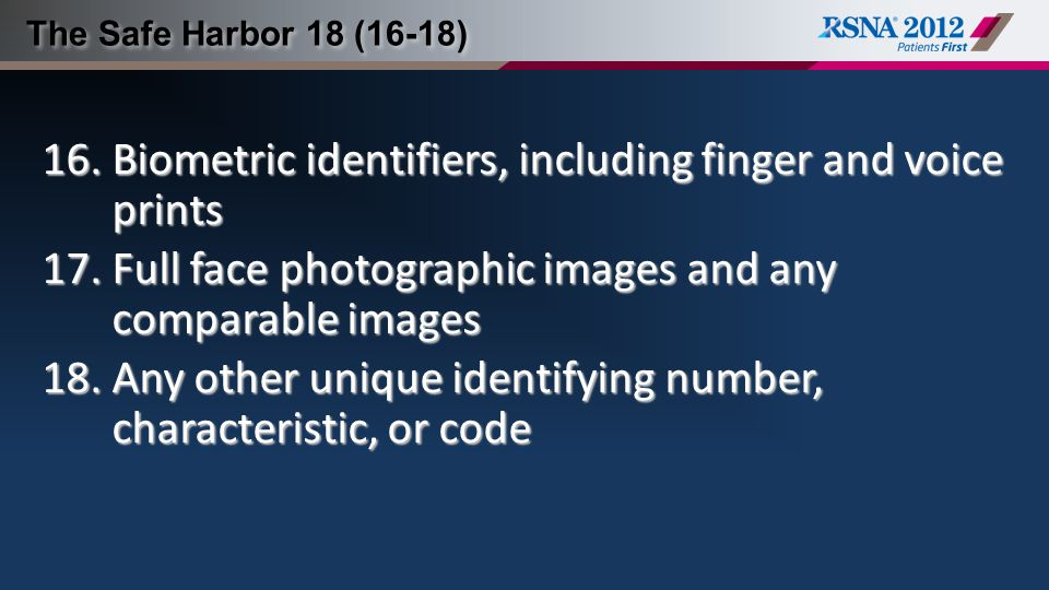 Biometric identifiers, including finger and voice prints