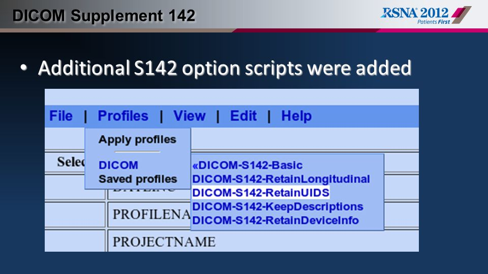 Additional S142 option scripts were added