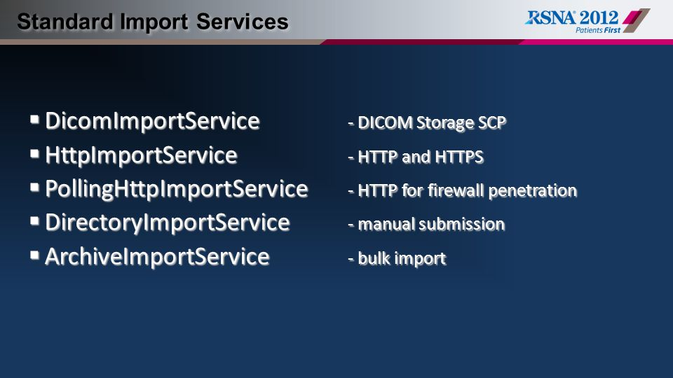 Standard Import Services
