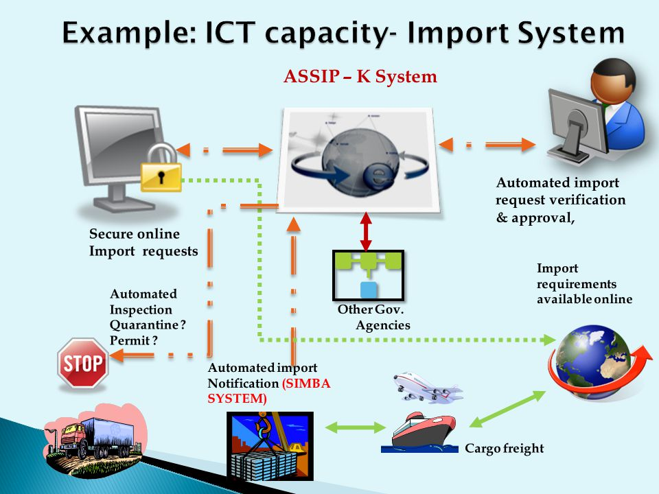 Example: ICT capacity- Import System