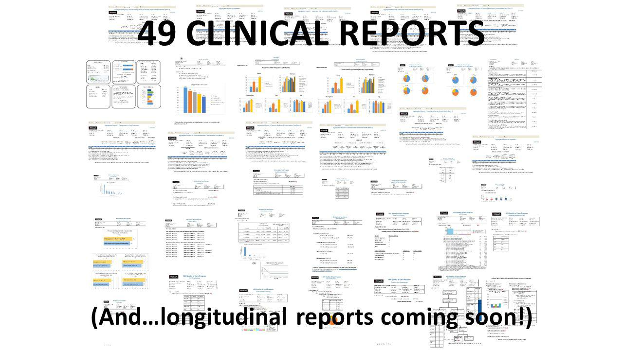 (And…longitudinal reports coming soon!)