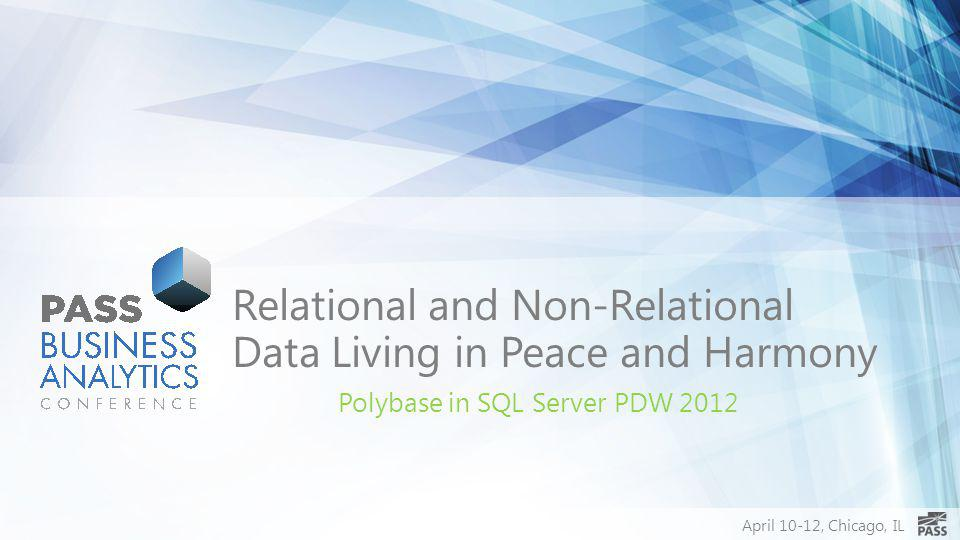 Relational and Non-Relational Data Living in Peace and Harmony