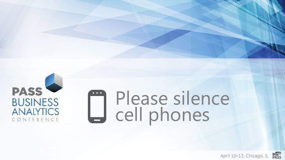 Please silence cell phones