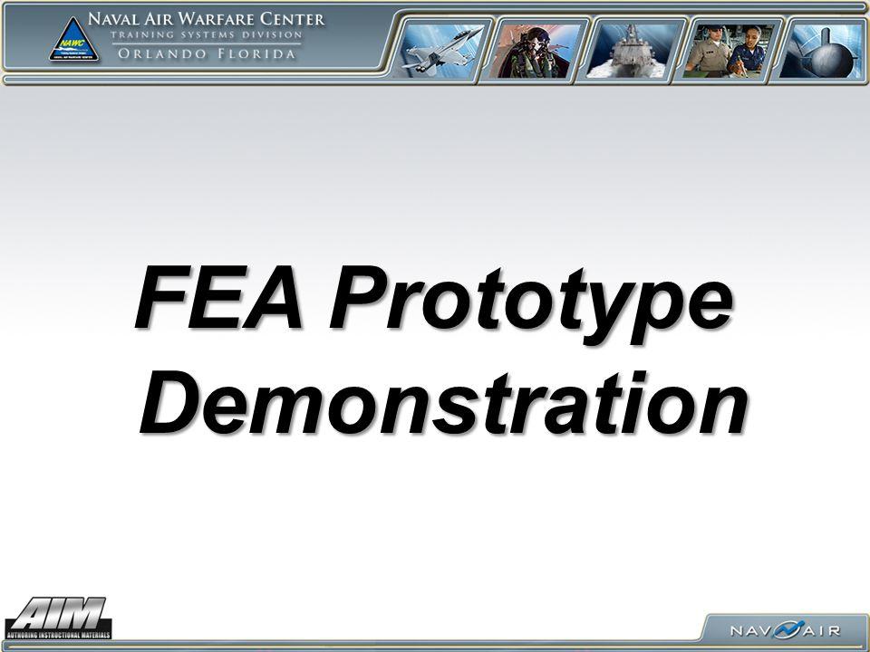 FEA Prototype Demonstration