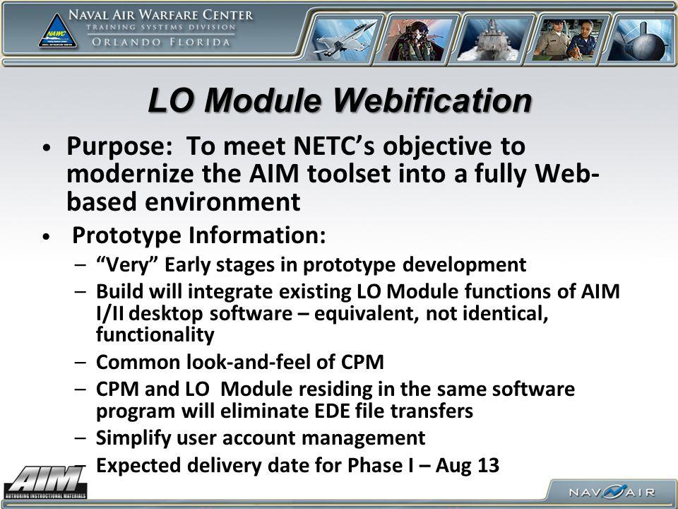 LO Module Webification
