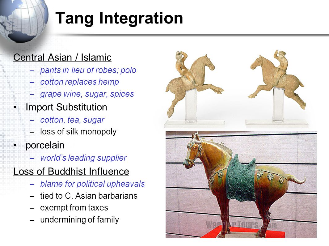 Tang Integration Central Asian / Islamic Import Substitution porcelain