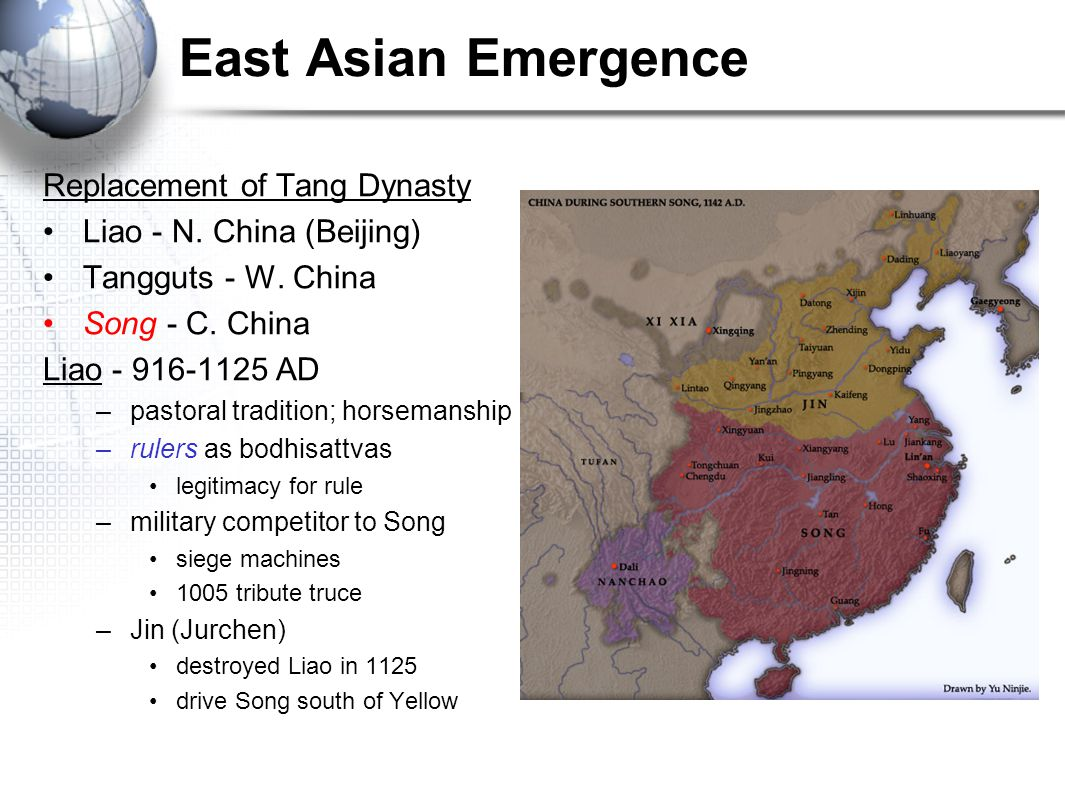 East Asian Emergence Replacement of Tang Dynasty