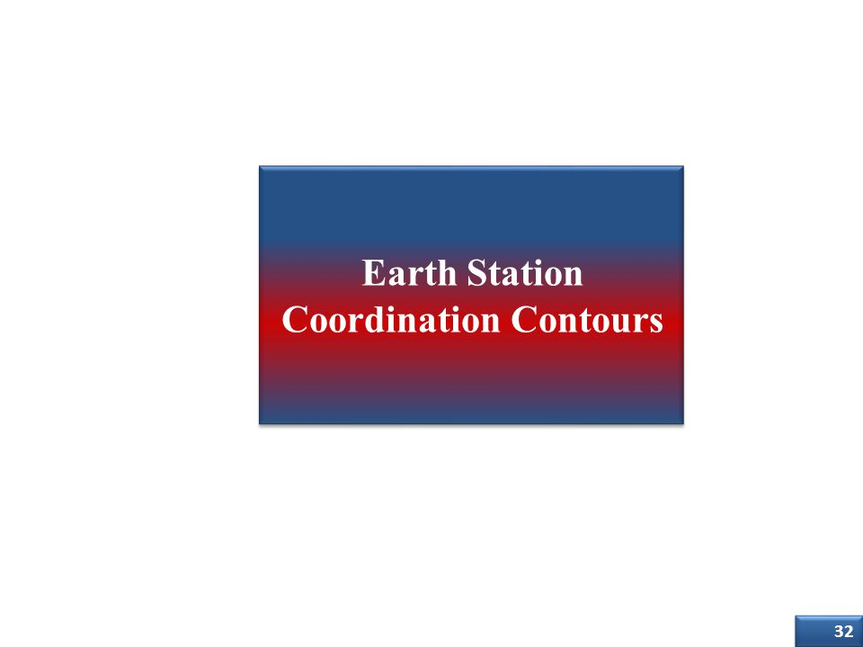 Earth Station Coordination Contours