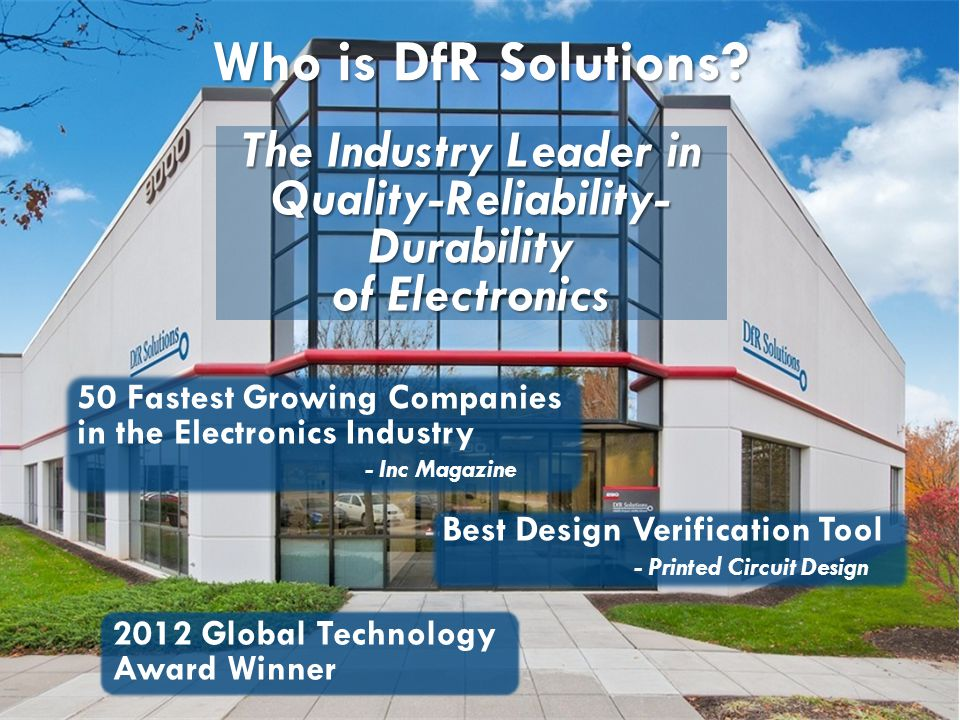 The Industry Leader in Quality-Reliability-Durability