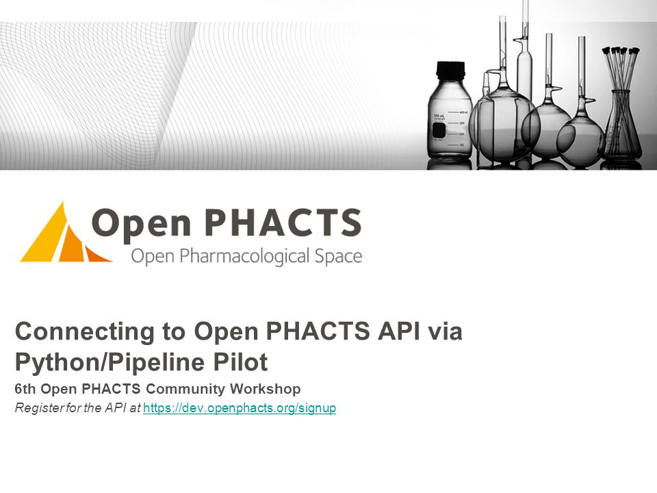 Connecting to Open PHACTS API via Python/Pipeline Pilot
