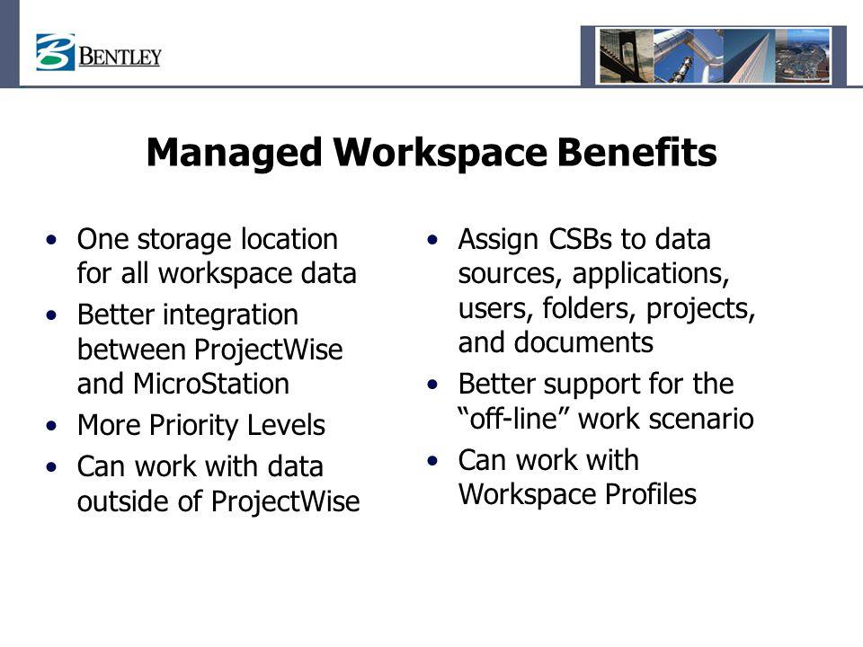 Managed Workspace Benefits