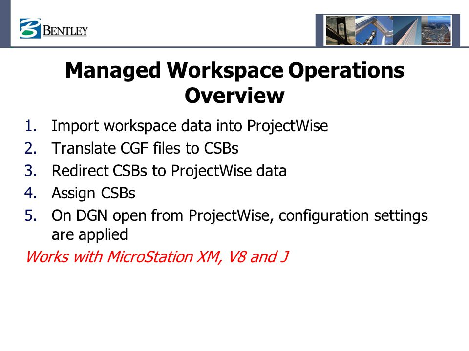 Managed Workspace Operations Overview