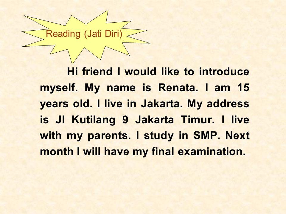 Reading (Jati Diri)