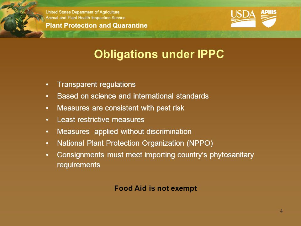 International Plant Protection Convention (IPPC)