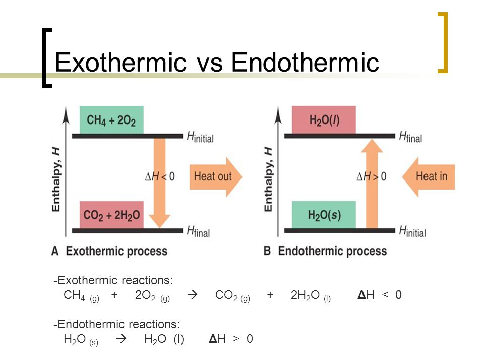Is Hell Endothermic or Exothermic