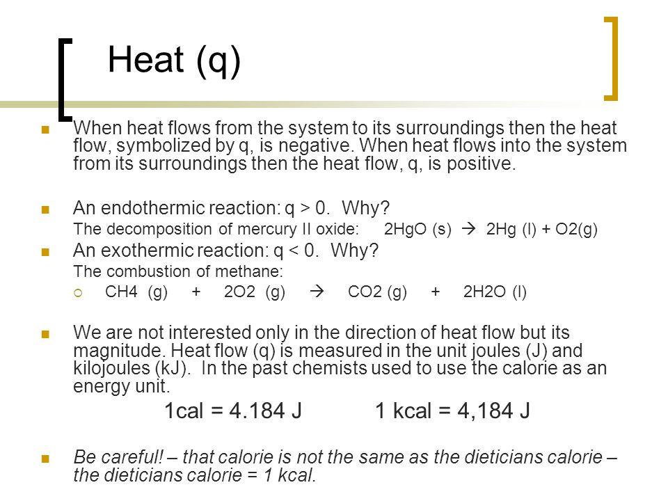 Heat (q)