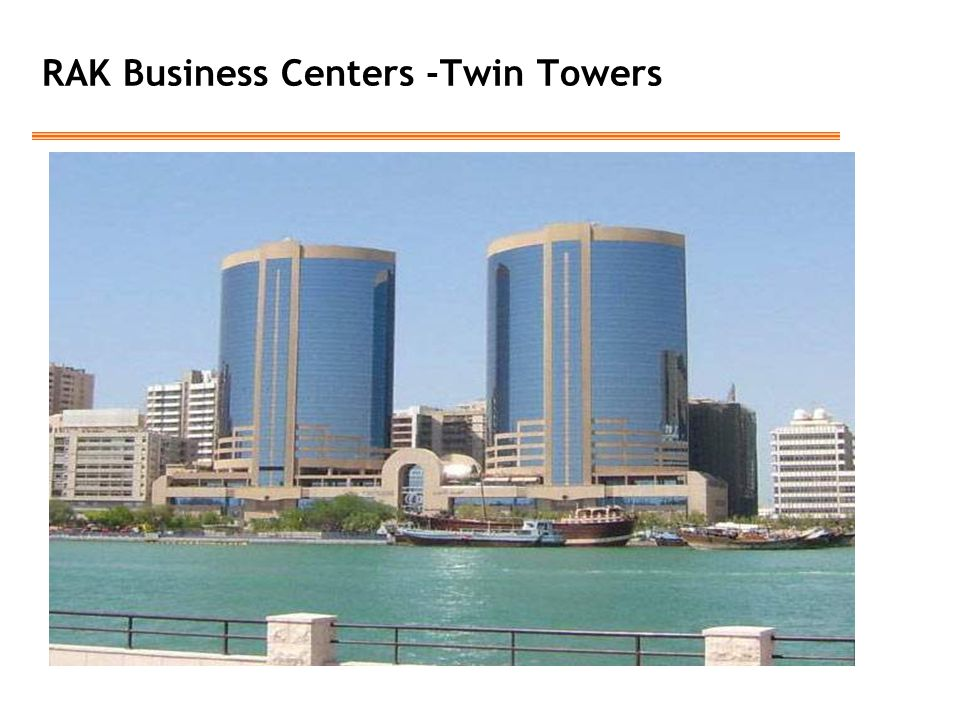 RAK Business Centers -Twin Towers
