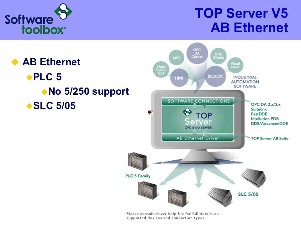 TOP Server V5 AB Ethernet