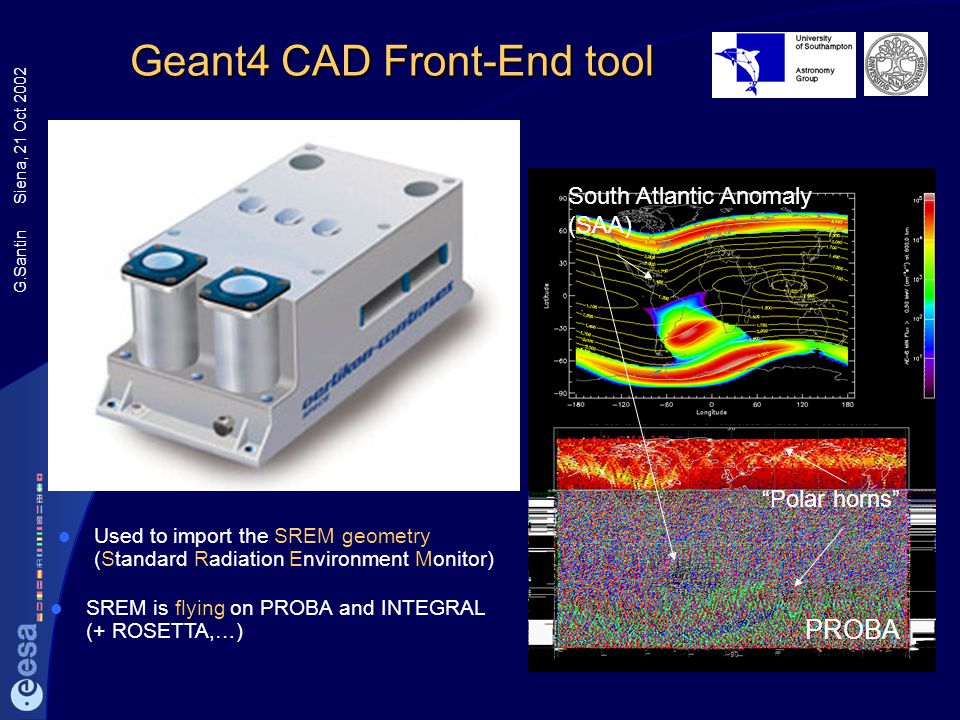 Geant4 CAD Front-End tool